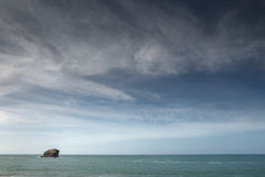 Portreath seascape shot Royalty Free Stock Image