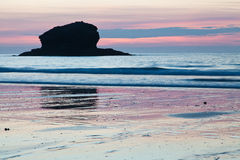 Portreath Sunset Royalty Free Stock Images
