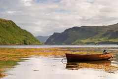 Portree Photo libre de droits