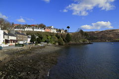Portree Harbor, Scotland Stock Photo