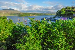 Portree Harbour Stock Images