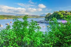 Portree Harbour Stock Photography