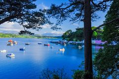 Portree Harbour Royalty Free Stock Image