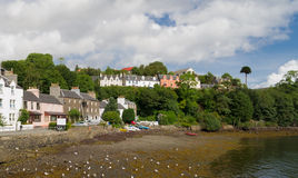 Portree harbour, scotland Royalty Free Stock Image