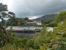 Portree, ilha de Skye, Escócia fotografia de stock royalty free