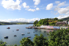 Portree.Isle of skye.Scotland Stock Photography