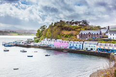 Portree - Main Harbour Royalty Free Stock Images