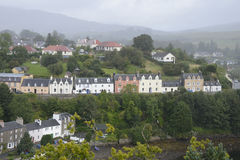 Portree (Port Righ) Harbor Royalty Free Stock Images