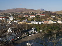 Portree and Storr Royalty Free Stock Photo