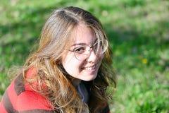 Portreit ενός νέου κοριτσιού Στοκ Εικόνες