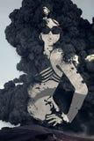 Portreit de uma mulher Imagens de Stock
