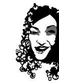 Portreit kobieta ilustracji