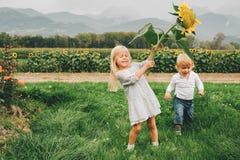 Portretów małe dzieci Zdjęcia Royalty Free