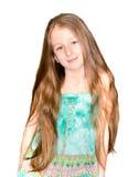 Portret ładna mała dziewczynka zdjęcie royalty free