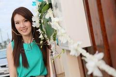 Portret śliczna piękna kobieta Zdjęcie Royalty Free