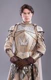 portret średniowieczny rycerz fotografia stock