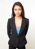 Portret żeński biznesowy profesjonalista obrazy stock