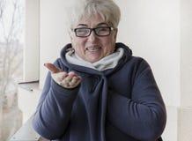 Portret красивой старшей женщины Стоковые Фотографии RF
