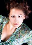 Portret ładna młoda kobieta obraz stock