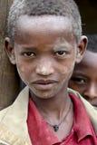 Portret Afrykańska chłopiec Obrazy Royalty Free