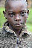 Portret Afrykańska chłopiec Zdjęcia Royalty Free