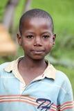 Portret Afrykańska chłopiec Zdjęcia Stock