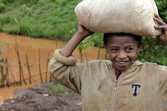 Portret Afrykańska chłopiec Zdjęcie Royalty Free
