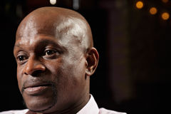 Portret afrykański facet Zdjęcia Royalty Free