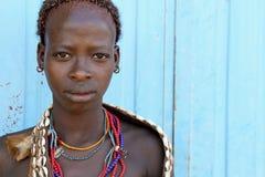 Portret Afrykańska kobieta Fotografia Royalty Free