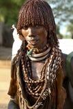 Portret Afrykańska kobieta Zdjęcie Royalty Free