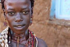 Portret Afrykańska kobieta Zdjęcie Stock