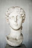 Portret Agrippina młody, żona cesarz Claudius Fotografia Royalty Free