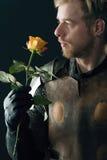 Portret antyczny rycerz Zdjęcie Stock