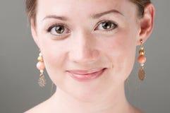 Portret atrakcyjna kobieta zdjęcia stock
