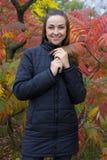 Portret atrakcyjna młoda brunetka Obraz Royalty Free
