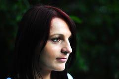 Portret atrakcyjna młoda kobieta Zdjęcia Stock