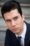 Portret atrakcyjna męska biznesowa osoba Zdjęcie Royalty Free