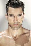 Portret atrakcyjny mężczyzna Zdjęcia Stock