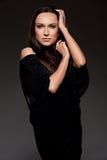 Portret atrakcyjny model Fotografia Royalty Free