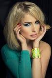 Portret atrakcyjny piękno. Zdjęcie Stock