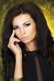 Portret atrakcyjny piękno. Obraz Stock