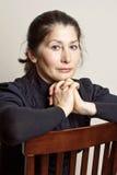 Portret Azjatycka kobieta Zdjęcie Royalty Free
