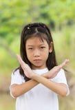 Portret Azjatycka młoda dziewczyna Fotografia Stock