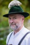 Portret bavarian mężczyzna fotografia stock
