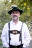Portret bavarian mężczyzna obraz royalty free