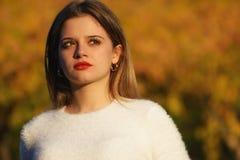 Portret beatifull dziewczyna Zdjęcie Royalty Free