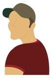portret bez twarzy Zdjęcie Stock