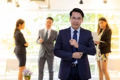 Portret biznesmen zdjęcie stock