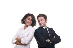 Portret biznesowa drużyna Zdjęcia Stock