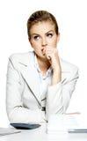 portret biznesowa kobieta Zdjęcie Stock